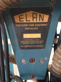Victor air flow superspeed floor scrubber