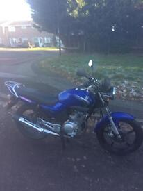 Yamaha ybr125 learner legal 125cc
