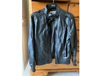Boys leather jacket, age 11-12