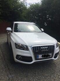 Audi Q5 White 2010 S Line Special Edition