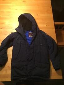 Boys Navy Winter Next Coat age 10