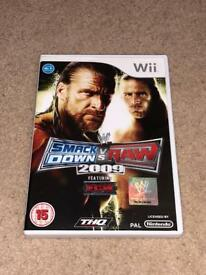 WWE Smackdown vs Raw 2009 featuring ECW Wii