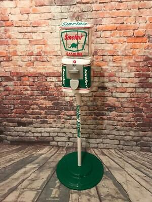 SINCLAIR dino gas gumball machine penny machine glass Christmas gift game room