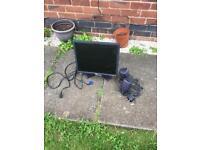 """Dell computer monitor 15"""" tv"""