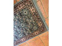 Patterned rug 153 x 76cm