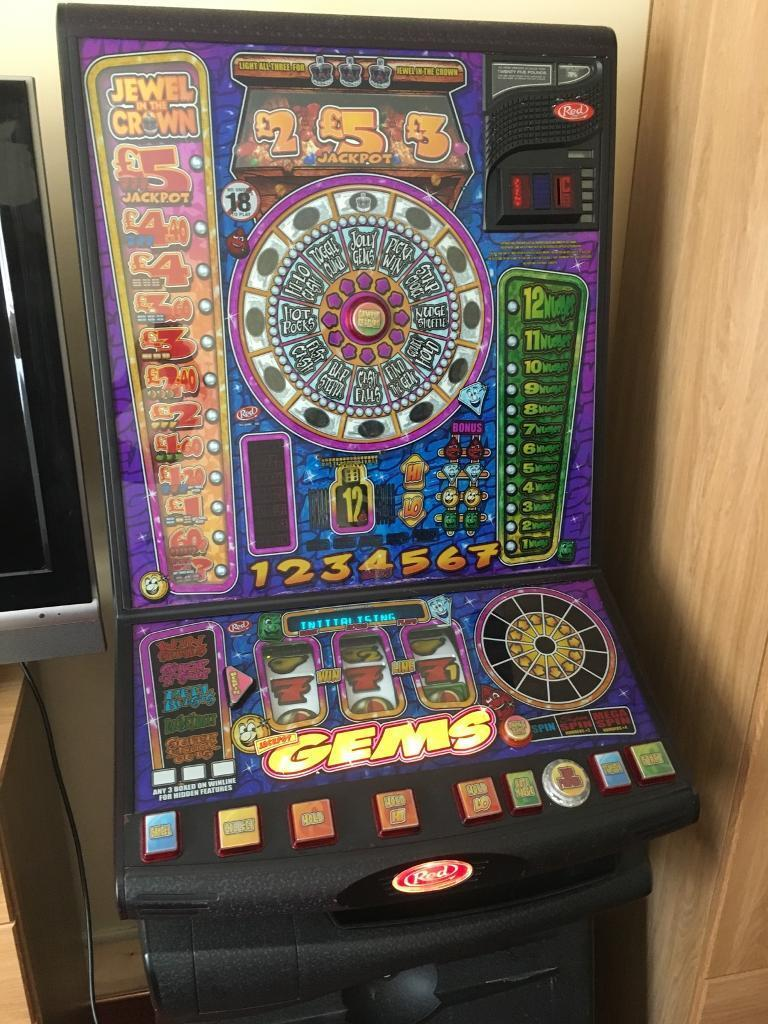 Fruit machinein Birmingham City Centre, West MidlandsGumtree - Fully working fruit machine either £5 jackpot or £35 all fully working with two sets of keys also have on free play does not take new £1 coins but can be upgraded to it collection only and a bargain at £50.00