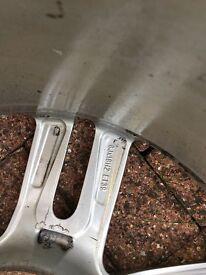 "Audi A6 18"" x 245 alloy wheels (genuine)"