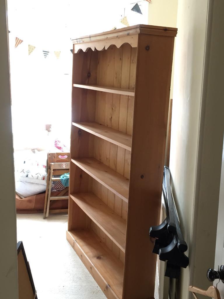 Pine bookcase | in Exeter, Devon | Gumtree