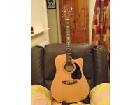 Ibanez PF60 electric acoustic guitar