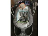 Ingenuity Baby Swing to Chair with sounds and vibrate