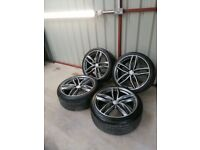 20 audi rs6 5x112 alloy wheels