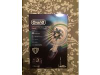 Oral-B Smart 4 4000 CrossAction Electric Toothbrush Rechargeable, brand new, unopened, boxed