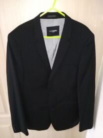 Peter Werth Black Suit Jacket Regular 38in