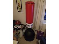 Sand Base Boxing Bag and Gloves