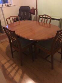 Extendable Dining Table & Chairs by STAG