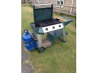 Gas BBQ with 3 burners
