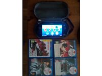 Sony Playstation PS vita 8gb + 4 games