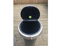 Brabantia 30L, touch lid bin, matt steel finish