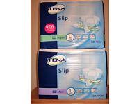 Tena Slip Sanitary Pads-Super & Maxi