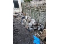 Free hardcore/rubble. Collection only. Concrete and bricks