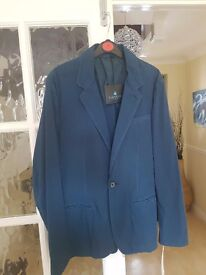 Lanvin paris blue blazer