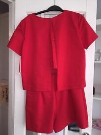 Red Zara playsuit