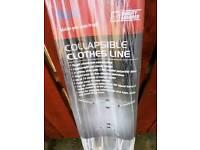 Fold away cloths line brand new