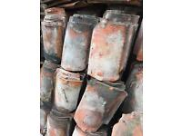 Reclaimed clay pantile