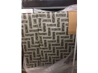 Brand new designer grey 6 seater table &6 chairs
