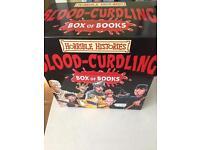 Horrible Histories box of 20 books. Like new.