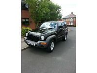Jeep Cherokee 2.4 petrol manual 4x4