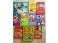 Bundle of horrid Henry books