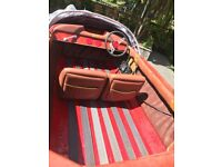 For sale fletcher classic speed boat with trailer and Mercury 70hp outboard