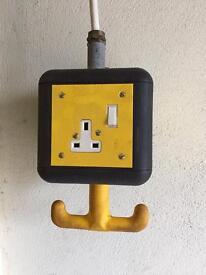 Workshop hanging 13A Plug sockets