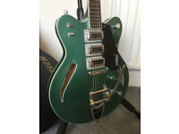 Gretsch Electromatic G5622T-CB Electric Guitar in Georgia Green with Hard Case