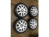 Skoda Fabia VRS Mk1 Wheels