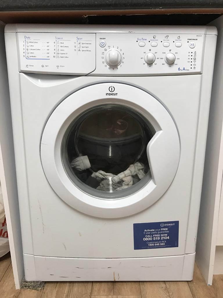 Indesit Washing Machine 6kg In Peterlee County Durham
