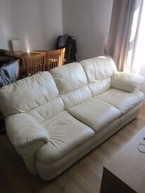 Free sofa for anyone who can come and collect.