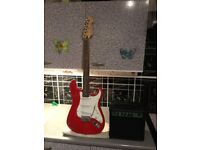 Electric guitar and amp £60 cash