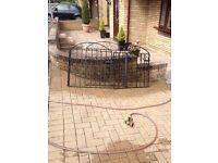 Designer gates 2ft 10 inc wide 3ft tall