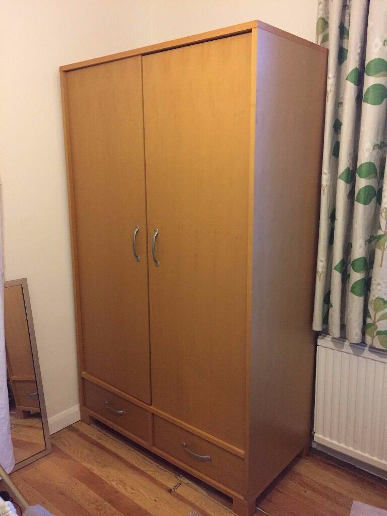 new style d5aba 2b72a Large solid wood Habitat wardrobe | in Hackney, London ...