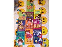 Horrid Henry full set books £15