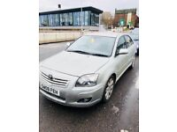 2008 TOYOTA AVENSIS 2.0 D-4D TR 5dr DIESEL CAR WITH SAT-NAV. SERVICE HISTORY AVAILABLE. LOW PRICE