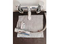 Grohe Concetto mixer set for bath and basin