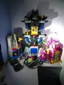 Imaginext toys ( batman, joker, superman)