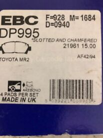 Toyota MR2 EBC Brake Pads