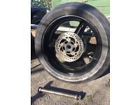 Suzuki GSXR 1000 K4 rear wheel