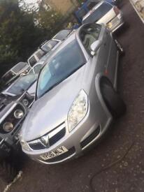 3x Vauxhall vectra breaking