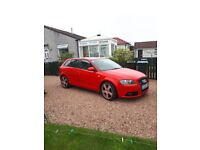 Audi A3 S-line 2.0 tdi multitronic black edition