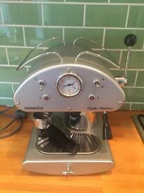 Kenwood cafe retro coffee machine